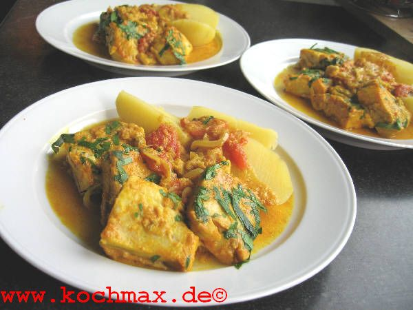 fisch curry tomaten